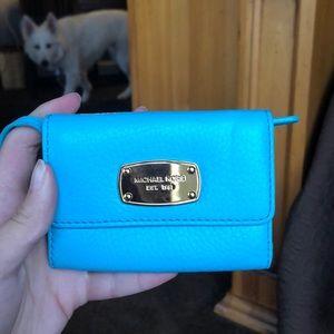 michael kors tiffany blue wallet